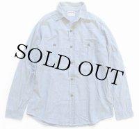 60s DOUBLE RINGER シャンブレーシャツ15.5