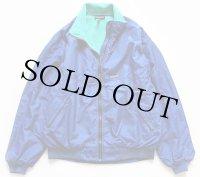 90s USA製 patagoniaパタゴニア フリースライナー ナイロンジャケット 青★シェルドシンチラ
