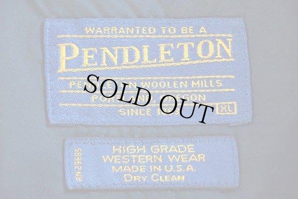 画像4: USA製 PENDLETONペンドルトン ネイティブ柄 ウール ブランケット ジャケット XL