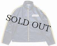 70s USA製 GOODYEAR パッチ付き ナイロン レーシングジャケット 紺×黄色 L