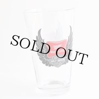 80s Miller HIGH LIFE HARLEY-DAVIDSONハーレー ダビッドソン グラス