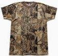 画像2: 80sデッドストック USA製 ACE SPORTSWEAR スナイパーカモ ポケットTシャツ M (2)