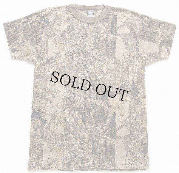 画像2: 80sデッドストック USA製 ACE SPORTSWEAR スナイパーカモ ポケットTシャツ M