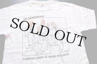 90s USA製 THE CHEDDARHEADS コットンTシャツ 白 L