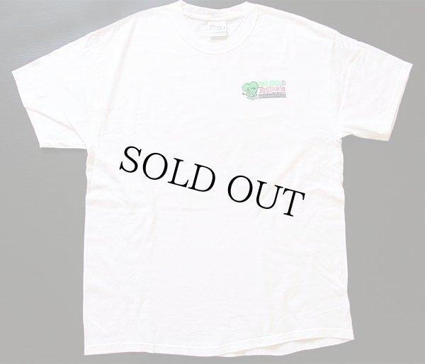 画像2: 00s RATFINKラットフィンク REUNION MOONEYES コットンTシャツ 白 L