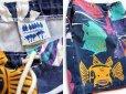 画像3: 90s USA製 MICHIGAN RAGミシガンラグ 魚総柄 ショートパンツ M★ショーツ (3)