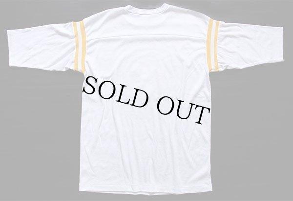 画像3: 80s スヌーピー USMC メッセージ フットボールTシャツ 白
