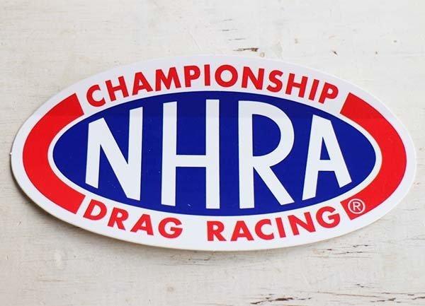 画像1: デッドストック★NHRA CHAMPIONSHIP DRAG RACING ステッカー