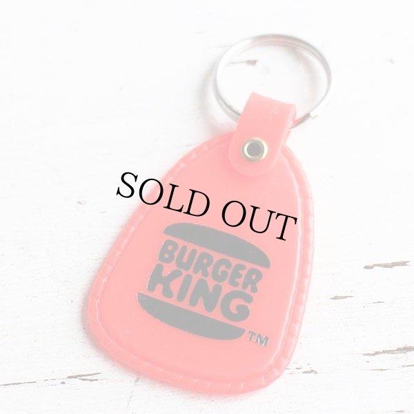 画像1: BURGER KINGバーガーキング キーホルダー 赤