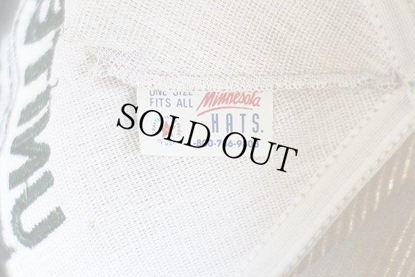 画像4: 80s USA製 UNITED SHEET METAL ロゴ刺繍 太畝コーデュロイキャップ ベージュ