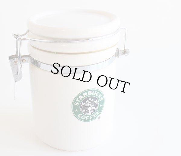 画像1: 07 STARBUCKS COFFEE スターバックス コーヒー キャニスター