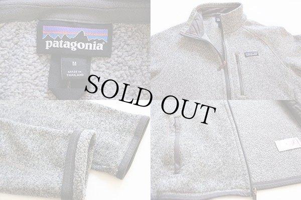 画像3: patagoniaパタゴニア ベターセーター フリースジャケット グレー M