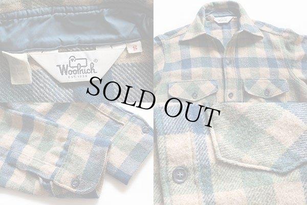 画像3: 70s Woolrichウールリッチ ブロックチェック ウールシャツ S