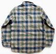 画像2: 70s Woolrichウールリッチ ブロックチェック ウールシャツ S (2)