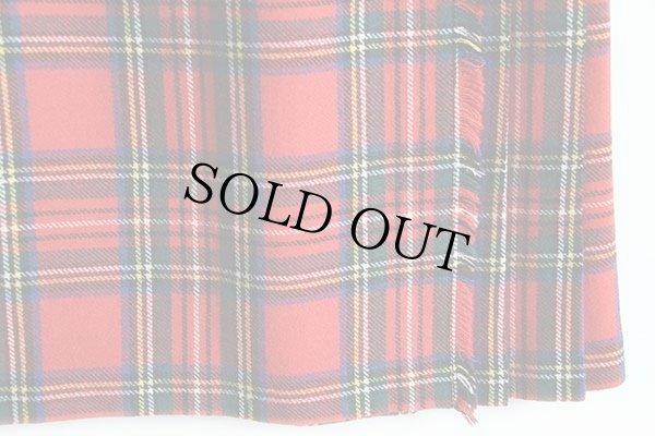 画像4: スコットランド製 Laird-Portch タータンチェック ウール キルトスカート 12