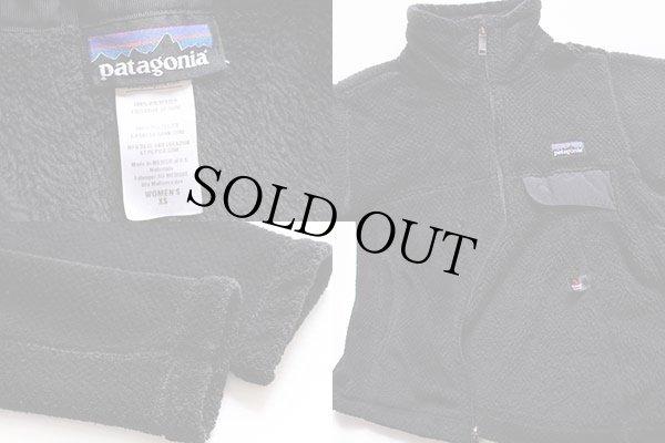 画像3: patagoniaパタゴニア RE-TOOLリツール POLARTEC フリースジャケット 黒 W-XS
