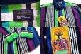 画像3: デッドストック★90s USA製 Panhandle Slim クレイジーストライプ ボタンダウン コットン ウエスタンシャツ 16.5 (3)