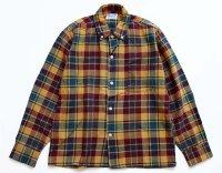 60s Cranbrook チェック ボタンダウン コットンシャツ ボーイズ16