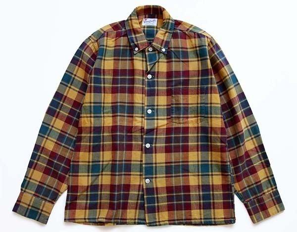 画像1: 60s Cranbrook チェック ボタンダウン コットンシャツ ボーイズ16