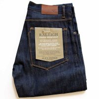 未使用★USA製 RALEIGH DENIM ALEXANDER CONE DENIM WHITE OAK デニムパンツ 32/305 w31