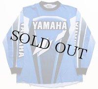 90s USA製 YAMAHAヤマハ コットン モトクロス レーシングシャツ L