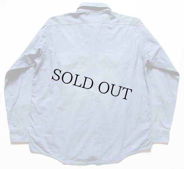 画像2: 70s USA製 OSHKOSH B'GOSH コットン シャンブレーシャツ