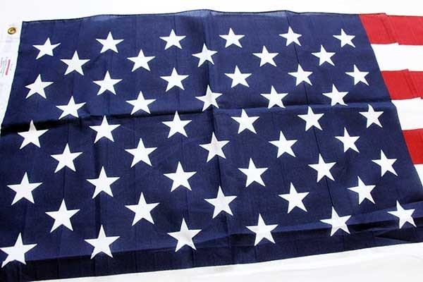 画像2: デッドストック★USA製 50スター アメリカ国旗 星条旗 USA フラッグ★19