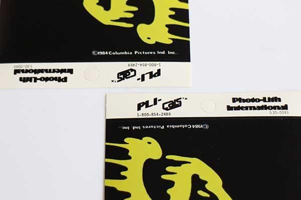 画像3: デッドストック★80s GHOSTBUSTERゴーストバスターズ SLIMED ステッカー 2枚セット