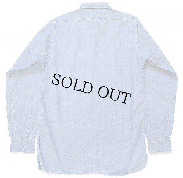 画像2: 50s King Kole マチ付き コットン シャンブレーシャツ