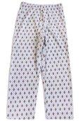 画像9: デッドストック★80s Wellington 総柄 プリントネル パジャマ シャツ&パンツ セット C