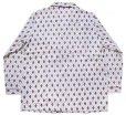 画像3: デッドストック★80s Wellington 総柄 プリントネル パジャマ シャツ&パンツ セット C