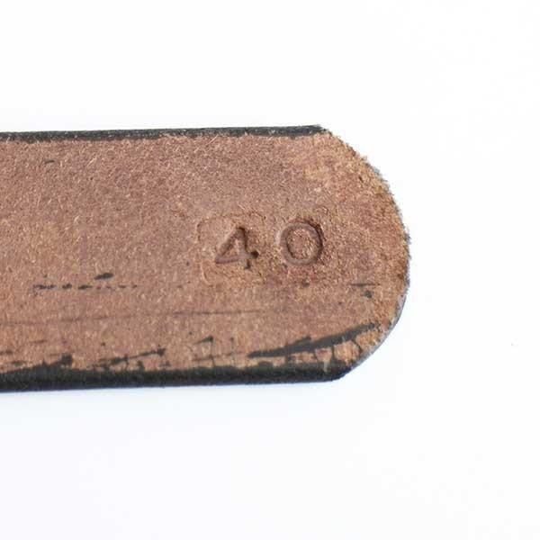 画像4: 新品★USA製 AMISH HANDCRAFTED アーミッシュ ハンドクラフト レザーベルト 茶 40