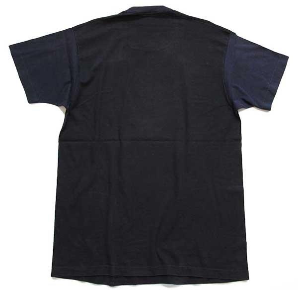 画像3: 80s USA製 CALIFORNIA ヤシの木 ネオンカラー アート コットンTシャツ 黒 XL