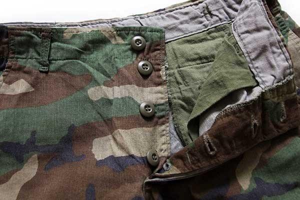 画像4: 80s 米軍 U.S.ARMY ウッドランドカモ カーゴ ショートパンツ カスタム S★16 ショーツ