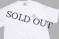 90s USA製 Lee HARLEY-DAVIDSON ハーレー ダビッドソン ロゴ刺繍 両面 コットンTシャツ 白 XL