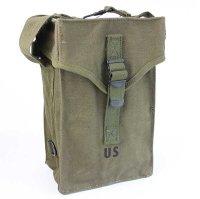 デッドストック★60s 米軍 U.S.ARMY M16A1 BAG AMMUNITION キャンバス バッグ オリーブグリーン