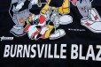 画像3: デッドストック★90s USA製 LOONEY TUNESルーニーテューンズ Over the Edge BURNSVILLE BLAZE コットンTシャツ 黒 M (3)