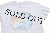 DISNEYディズニー PIXAR TOY STORYトイストーリー BUZZ LIGHTYEARバズライトイヤー 1995 Tシャツ 杢グレー S