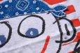画像3: 90s USA製 Danny first HONOLULU HAWAIIハワイ 星条旗 バンダナ アート コットンTシャツ 杢ライトグレー L (3)