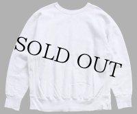 90s USA製 The Cotton Exchange 無地 リバースウィーブ スウェット 杢グレー XL