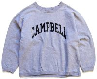 90s USA製 The Cotton Exchange CAMPBELL スウェット 杢グレー L