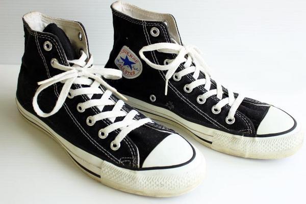 90s Usa製 Convarseコンバース Allstarオールスター Hi 黒 8 Sixpacjoe