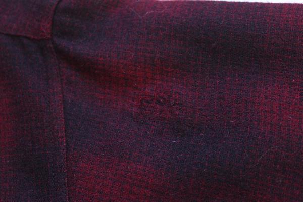 画像: 40s SEARS Pilgrimピルグリム オンブレチェック ウールシャツ
